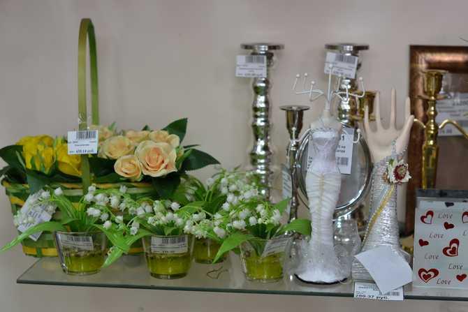 Флористические вазы
