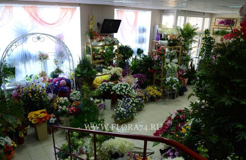 Искусственные цветы в Челябинске