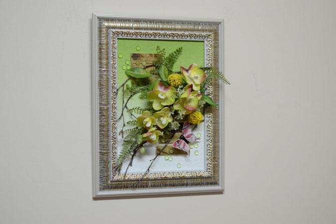 Настенное панно из искусственных цветов: http://flora74.ru/shop/2430-sm/nastennaya-cvetochnaya-kompoziciya-2430-sm
