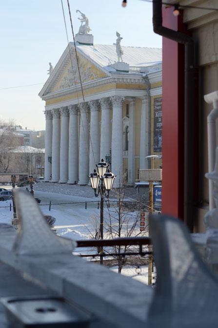 Вид на Оперный театр