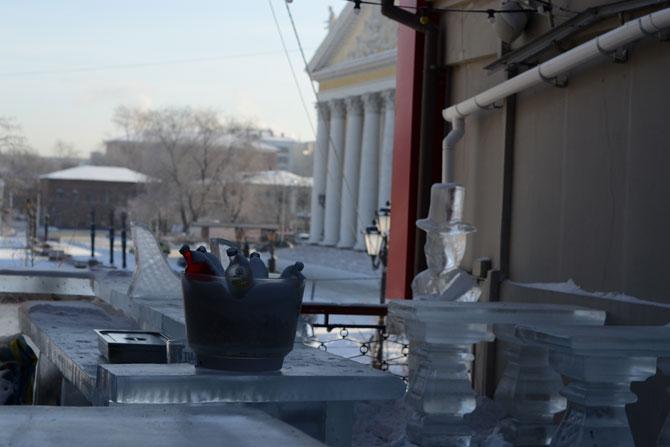 """Ice bar ресторана """"Потерянное общество"""""""