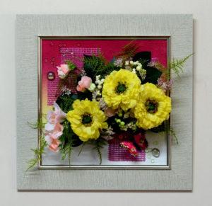 Настенная флористическая композиция 40*40 см