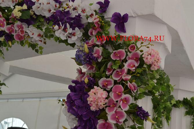 Искусственные цветы высокого качества