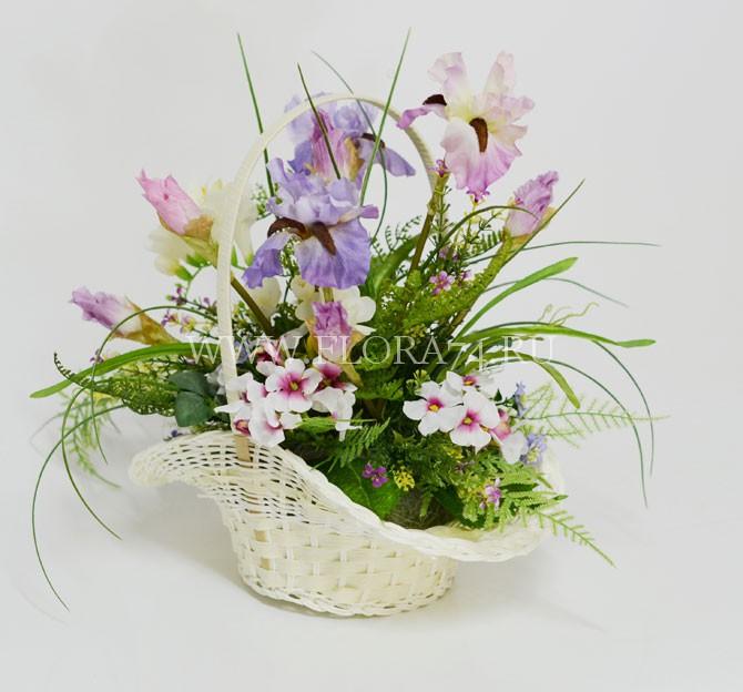 Цветы искусственные купить в челябинске