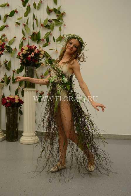 Флористическое платье