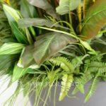 из искусственных растений