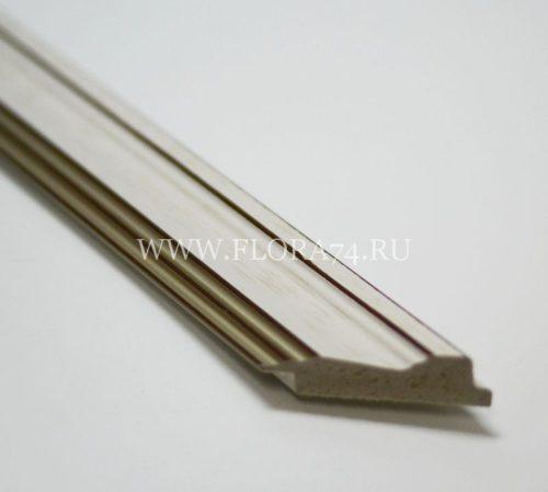 Багет пластиковый 52*20 мм . Выгодная цена