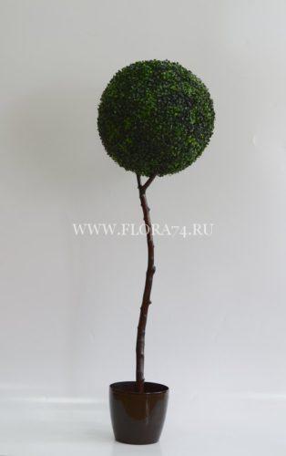 искусственное дерево, оформление интерьера