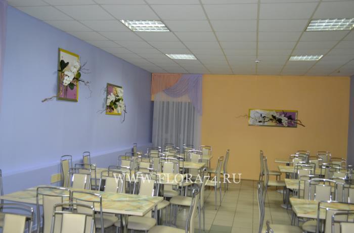 Оформление школьной столовой