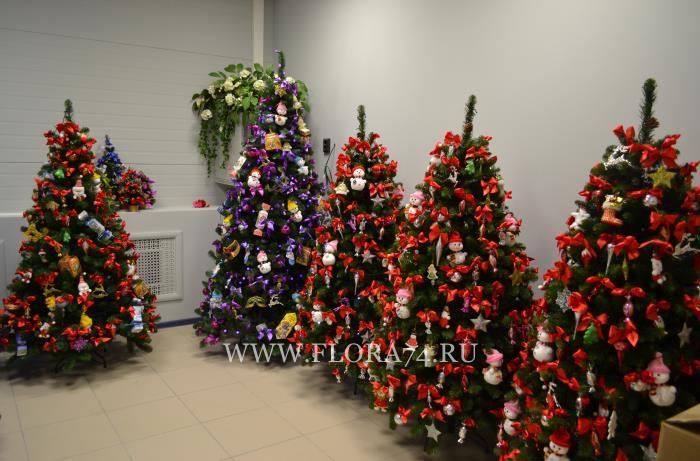 Новогодние ёлки для Чадограда в Красноярске