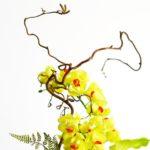 Искусственная латексная орхидея
