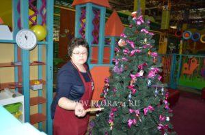 Демонтаж новогодней ёлки