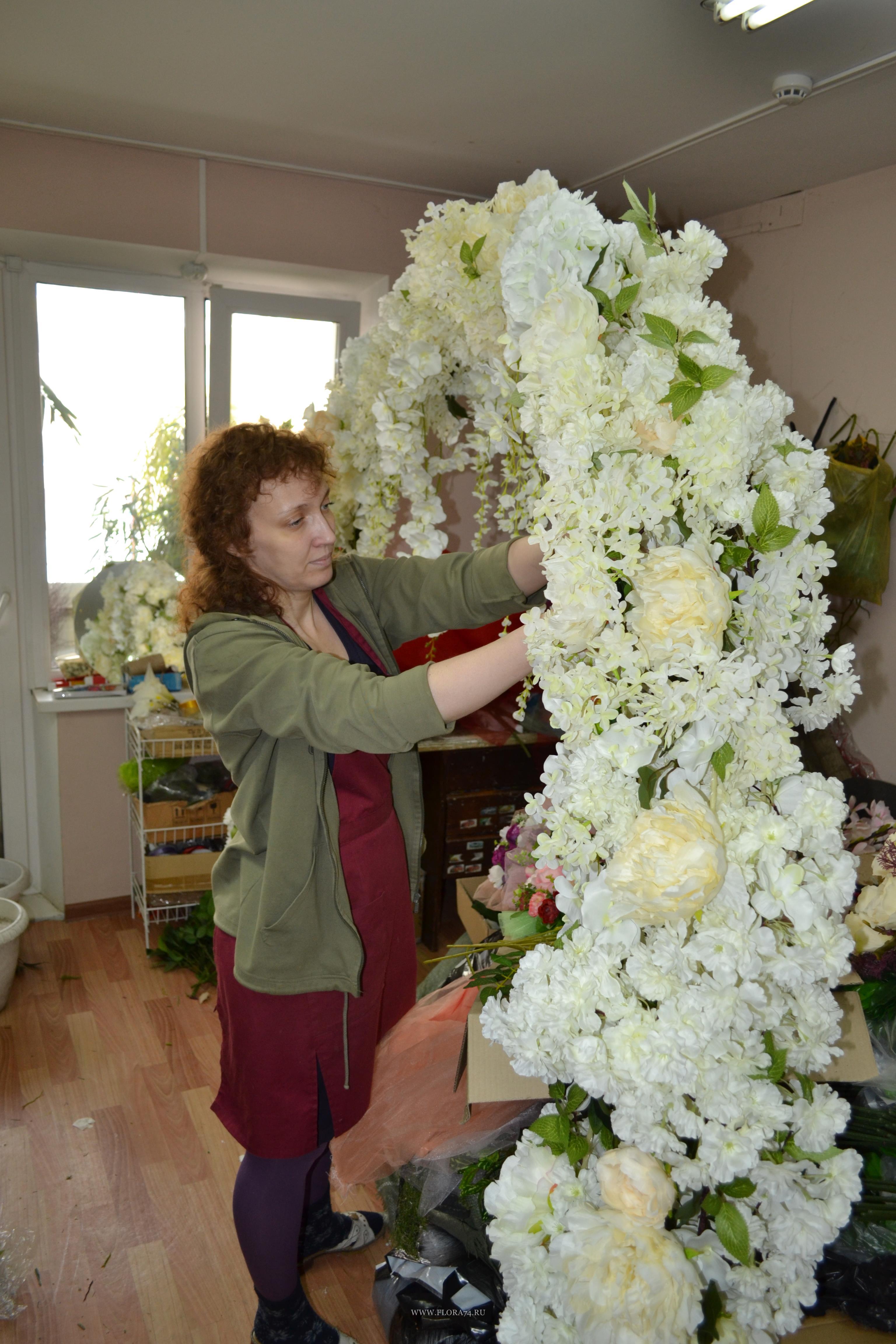 Изготовление свадебной арки