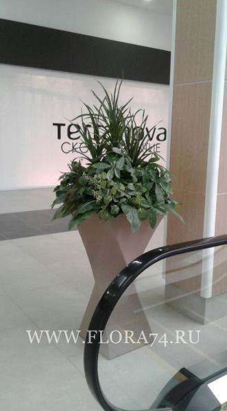 Изготовление декора для искусственного озеленения.