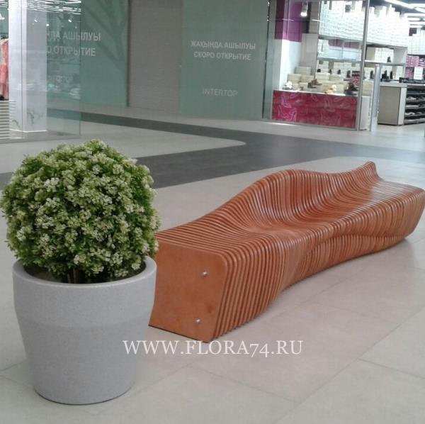 Декоративное озеленение ТРК.