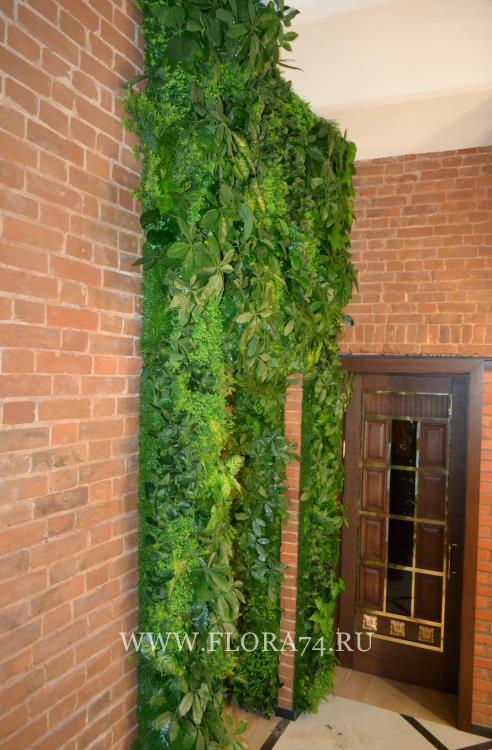 искусственное озеленение.