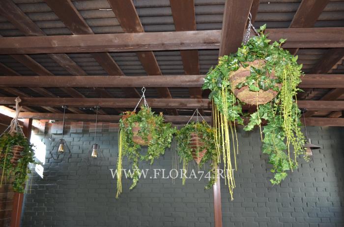 Декор для летнего ресторана.