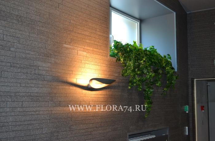 Искусственные растения и цветы.