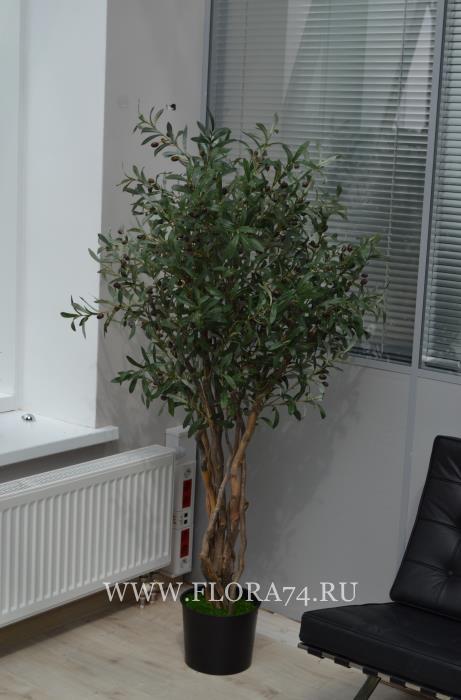 Искусственное дерево олива.