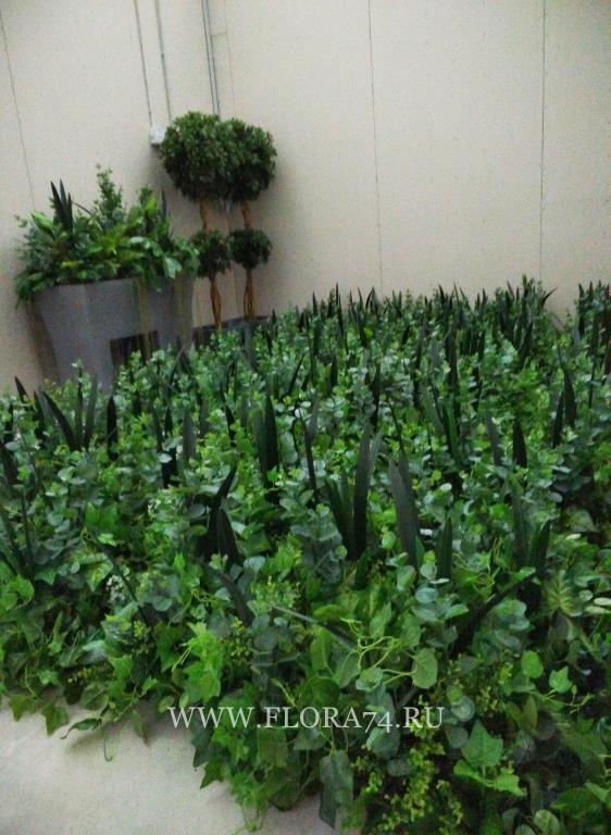 Искусственные растения.