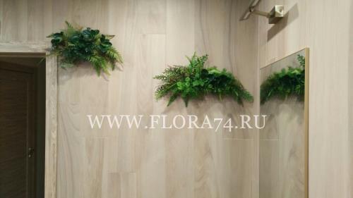 Декоративные дорожки из цветов.
