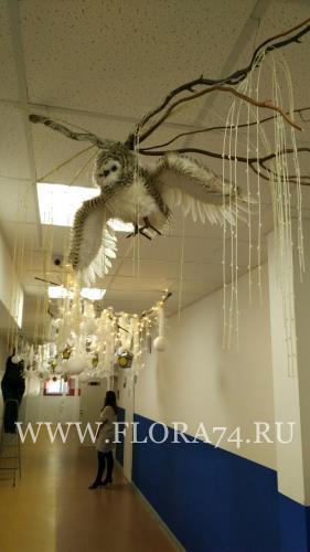 Фигура совы летящей.