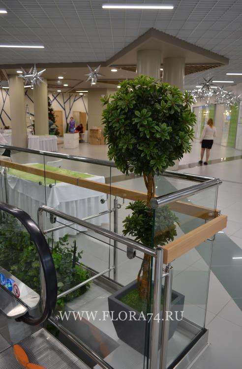 Изготовление искусственных деревьев.