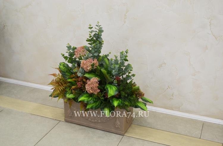 Искусственные растения премиум качества для озеленения.