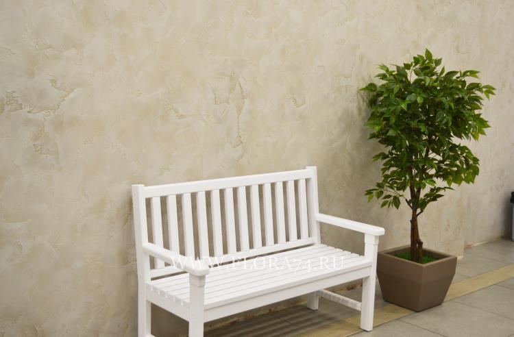 Фито озеленение искусственными растениями.