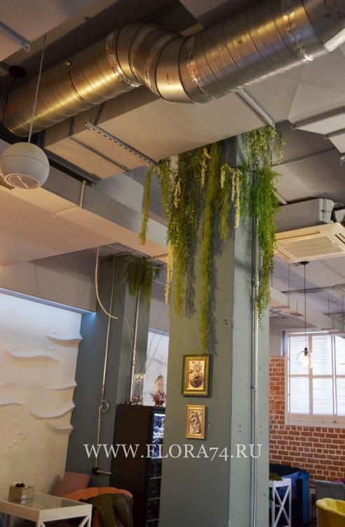 Искусственные водоросли.